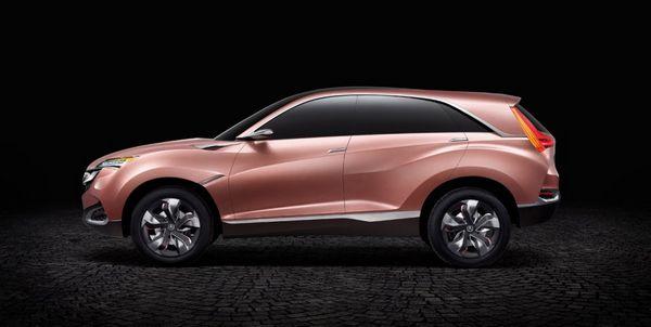 2016年开始在亚洲国家生产汽车.讴歌也将模仿奔驰、宝马高清图片
